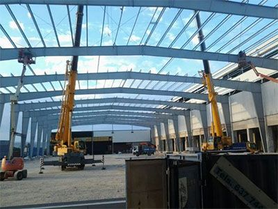 AL-Steel Construction Kapanon industriale