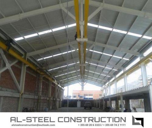 ALSteel Construction Ndertese industriale
