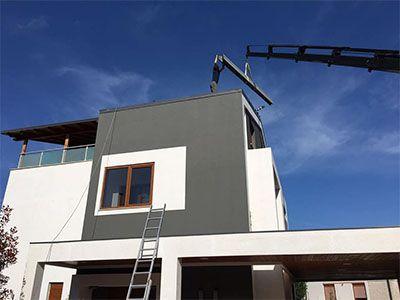 AL-Steel Construction Rikonstruksion Vile 1
