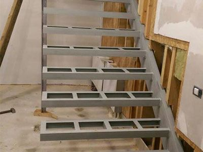 AL-Steel Construction Shkalle metalike